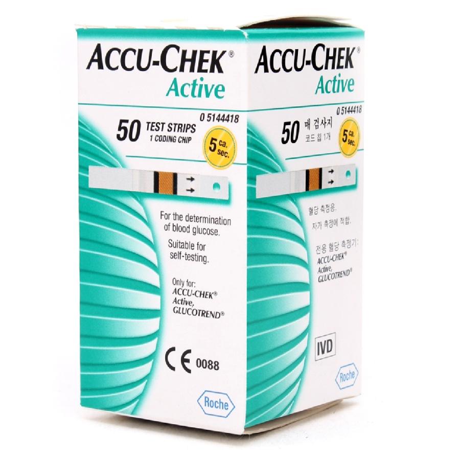 accuchek active test strips
