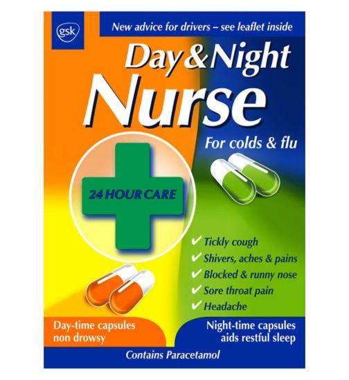 Day Amp Night Nurse Capsules